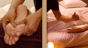 massage pieds et thai